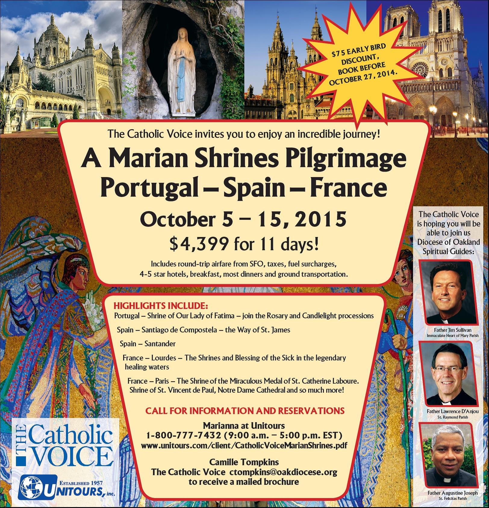 CATHOLIC MARIAN SHRINES